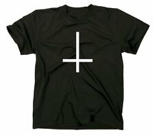 Rotated to cross T-Shirt, 666, inverted cross, satan, evil, death