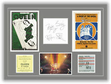 Queen Autographs, Tickets, Concert Posters Memorabilia Poster 2 Sizes Brian May