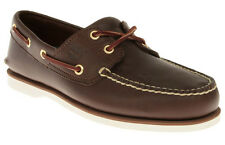 TIMBERLAND 74035 CLASSIC DARK BROWN MEN BOAT SHOES