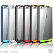 Premium Hybrid Hard Clear Transparent Back Cover Case For iPhone 6 / 6S & 5S