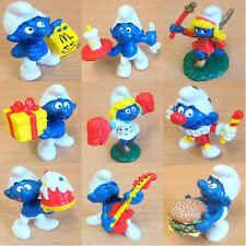 McDonalds Happy Meal Toy 1996 The SMURFS Hard Plastic Character - VARIOUS