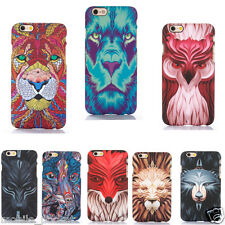 Premium 3D Printed Animal Design Hard Back Cover Case For iPhone 5 / 5S / SE