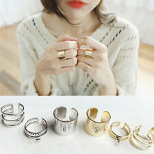 3er/set Neu Midi Ring Fingerspitzenring Above Knuckle Nagelring Obergelenkring