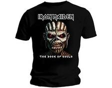 OFFICIAL LICENSED - IRON MAIDEN - BOOK OF SOULS T SHIRT HEAVY METAL EDDIE
