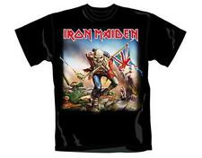 OFFICIAL LICENSED - IRON MAIDEN - THE TROOPER T SHIRT HEAVY METAL EDDIE