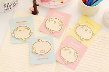 Novelty Cute Emoji Face Rain Drop Sticky Notes Sticker Marker Memo Notepad