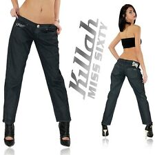 KILLAH by MISS SIXTY Sexy Damen Chino Hose Top Design Hammer Style Neu 3303