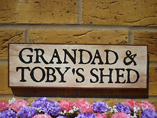 PERSONALISED WORKSHOP SIGN SHED SIGN MAN SHED NAME SIGN GARDEN SIGN FUN SIGN DIY