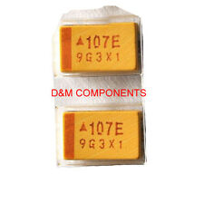 100uF 16V 2917 (7343 Metric) Type E, Tantalum Chip Capacitors, Pack:2,5 or 10