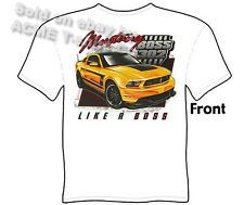Mustang T Shirts Ford Shirts Mustang Clothing Automotive Shirts Like A 302 Boss