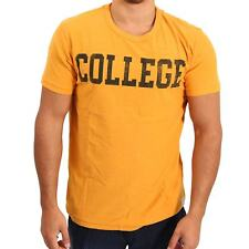 JACK & JONES VINTAGE Herren T-Shirt JUMP in Orange