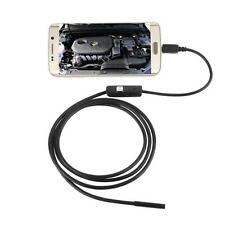 7/5.5mm 6LED Endoscope Borescope Inspection Video Camera Waterproof USB 2/3.5/5M