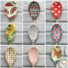 Decoupage Wooden Spoons Baker, Vintage,Cath Kidston, Shabby Chic