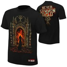 "Undertaker ""Never Summon The Dead"" Authentic T-Shirt - WWE - Sofort lieferbar"
