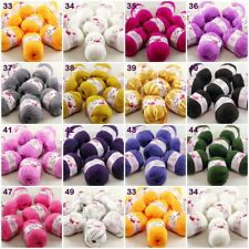 Sale new soft 2balls x 50g Baby Cashmere Silk Wool Children hand knitting Yarn