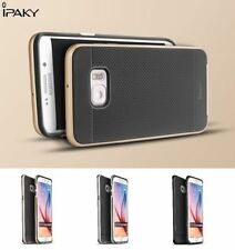iPAKY PC+TPU Hybrid Bumper Back Case Cover For Samsung Galaxy S6 Edge+ Plus