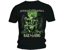 OFFICIAL LICENSED - AVENGED SEVENFOLD - EN VIE T SHIRT METAL HAIL TO THE KING