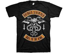 OFFICIAL LICENSED - AVENGED SEVENFOLD - HAIL TO THE KING T SHIRT METAL A7X