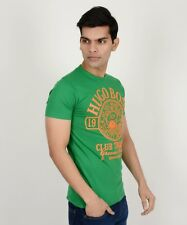 HUGO - BRANDED Export Surplus Green & Orange Tshirt For Men