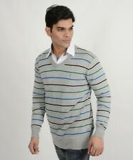 Indian Terrain Grey Sweater For Men (Export Surplus)