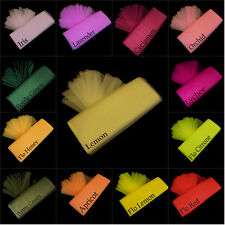 Dress Net Tutu Fabric per 1m Meter Tulle Mesh Material 130cm Wide