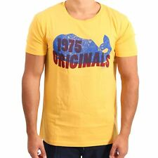 JACK & JONES ORIGINALS Herren T-Shirt YOLK YELLOW in Gelb