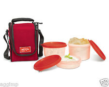 Milton Full Meal 3 Tiffin / Lunch Box Set - Microwave, 100% Leak Proof, Washable