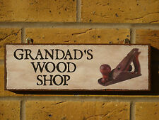 PERSONALISED WOODWORKING SHED SIGN OWN NAME OWN WORDING MAN SHED SIGN DIY GIFTS
