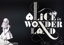 Alice In Wonderland Vintage Quote Art Poster Print A0 A1 A2 A3 A4 20x30 Maxi