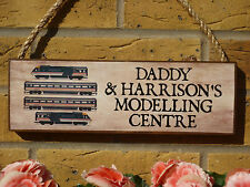 PERSONALISED MODELLING ROOM SIGNS GARDEN SHED SIGNS GARAGE SIGNS HOBBY ROOM OO