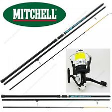 ENSEMBLE SURF, CANNE MITCHELL CATCH SURF 4M20 + MOULINET MER DIGUE 3 ROULEMENTS