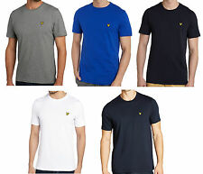 Lyle and Scott Crew Neck T Shirt for Men - Short Sleeve 100% Cotton