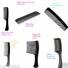 Detangling & Styling Hair Comb Shampoo Rake Handle Wide Teeth Anti-static  comb