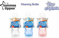 Tommee Tippee Explora Weaning Bottle age 4m  2 piece easy clean valve bpa free