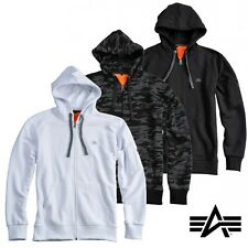 Alpha Industries Zip Hoody Hoodie X-Fit Kapuze Pullover Sweater S M L XL XXL 3XL