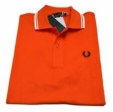 Polo T-shirt Maglia Uomo Men Fred Perry Made Italy Light and Stretch Slim 3136