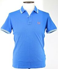 Polo T-shirt Maglia Uomo Men Fred Perry Made Italy slim fit piquet 3115