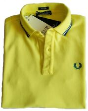 Polo T-shirt Maglia Uomo Men Fred Perry Made Italy 3114