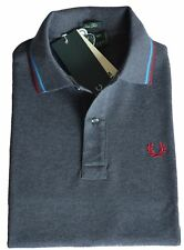 Polo T-shirt Maglia Uomo Men Fred Perry Made Italy 30102280