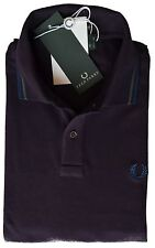 Polo T-shirt Maglia Uomo Men Fred Perry Made Italy 30162024 viola