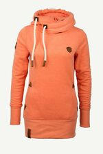 Naketano Wmn Hoody Darth Long VII Orange