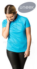 Uneek UC126 Ladies Ultra Cool Polo Shirt Womens Breathable Polyester Sports Top