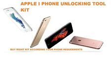 UNLOCKING KIT  For apple iPhone{ choose kit according the your phone}