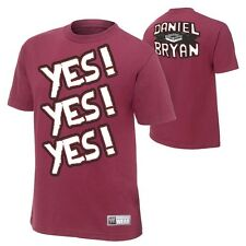 """Daniel Bryan """"Yes Yes Yes"""" Authentic T-Shirt - WWE Wrestling"""