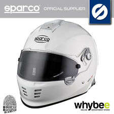 003305 SPARCO WTX-5W H FULL FACE RACING HELMET FIA & SNELL APPROVED MOTORSPORT