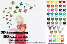 3d schmetterling wandtattoo wall tattoo wandsticker3d tattoo butterfly