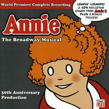 Annie: The Broadway Musical 30th Anniver - 2 DISC SET - Various (2008, CD NUOVO)