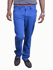 BRANDED EXPORT SURPLUS BLUE COTTON TROUSER FOR MEN