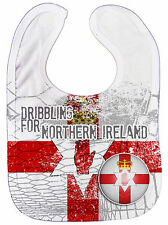"Dirty Fingers "" DRIBBLING PER Northern Irland "" Bambino NUTRIMENTO Bavaglino"
