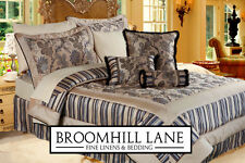 Beautiful Luxury Gold Black Floral Bedspread Quilt Duvet Cushions Curtains Sets